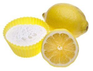 Как почистить плиту содой и уксусом