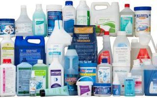 Дезинфицирующие средства для уборки дома и служебных помещений