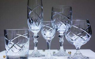 Как почистить хрустальные изделия в домашних условиях до блеска?