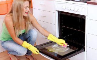Как отмыть духовку от старого пригоревшего жира?