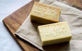 Состав и свойства хозяйственного мыла, применение в быту