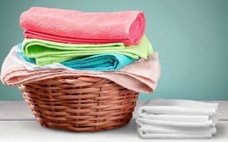 Как стирать махровые полотенца: режим, температура, средства