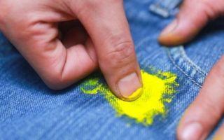 Чем оттереть масляную, акриловую, водоэмульсионную и другие виды красок с одежды?