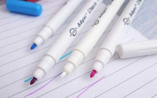 Как отмыть следы маркера с кожи, пластика, обоев и других поверхностей?