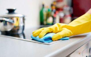 Как отмыть кухонный гарнитур и другие поверхности от жира?