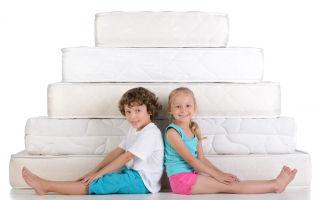 Какой матрас выбрать для ребёнка: учитываем жёсткость, материал и тип изделия