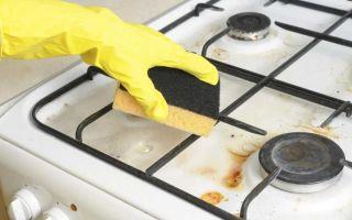 Как отмыть газовую плиту из эмали и нержавейки?