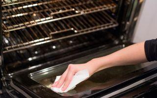 Как почистить кухонную духовку: народные способы и специальные средства от нагара и жира