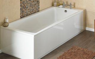 Чем очистить акриловую ванну