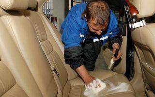 Чистка сидений автомобиля своими руками от пятен и грязи