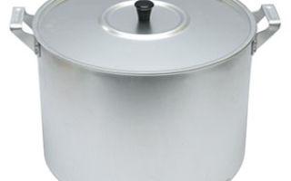 Чистка алюминиевых кастрюль от нагара и потемнения