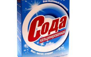 Применение кальцинированной соды: чистка, отбеливание дезинфекция