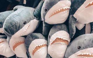 Как правильно постирать акулу Блохэй из IKEA?
