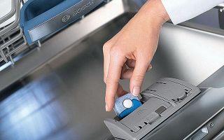 Как выбрать таблетки для посудомойки: рейтинг лучших средств