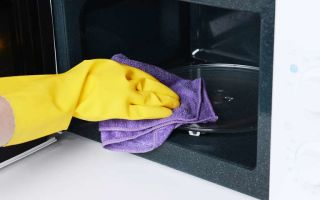 Как помыть микроволновку внутри: быстрые способы в домашних условиях