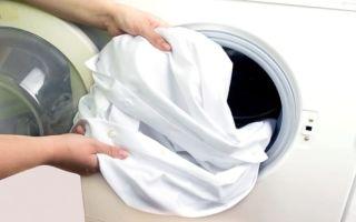 Как отбелить белую одежду в домашних условиях?