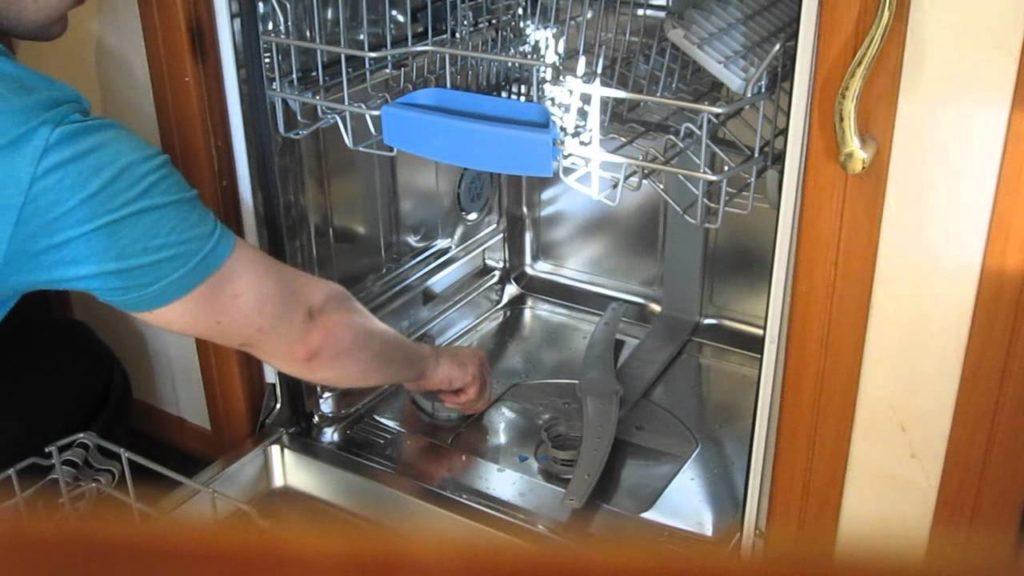 чистка посудомойки