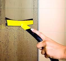 мытье стеклянных дверок