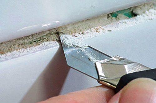 Как почистить межплиточные швы в ванной и на полу