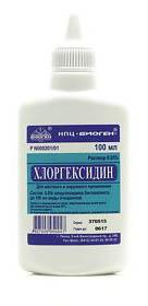 хлоргексидин раствор
