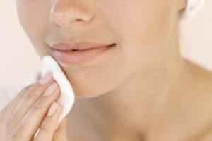 отмыть фукорцин с лица
