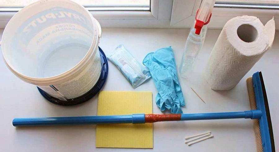 Инструменты для мытья
