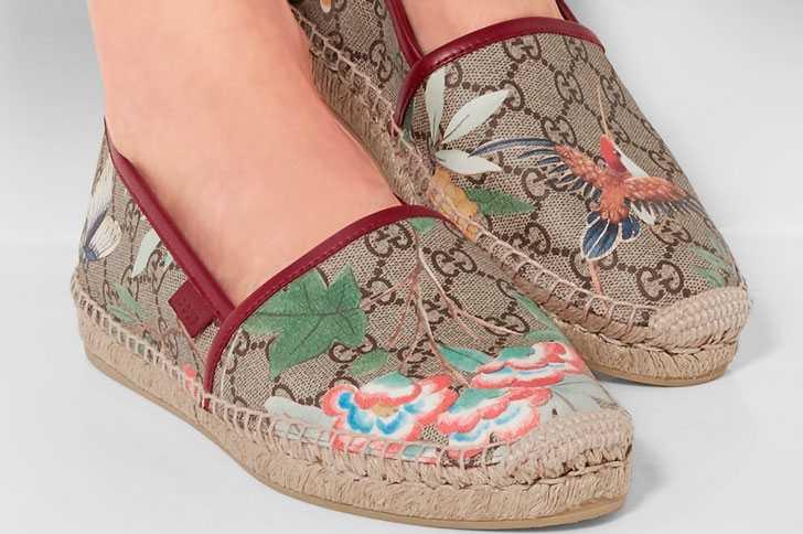 Тканевая обувь