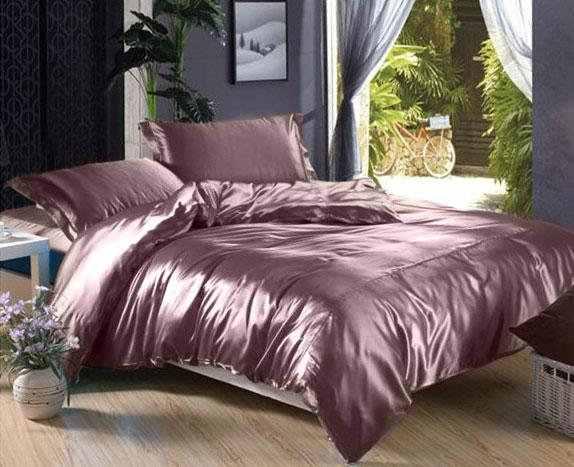 Атласное постельное белье