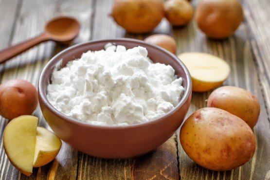 Мытье с помощью картофеля