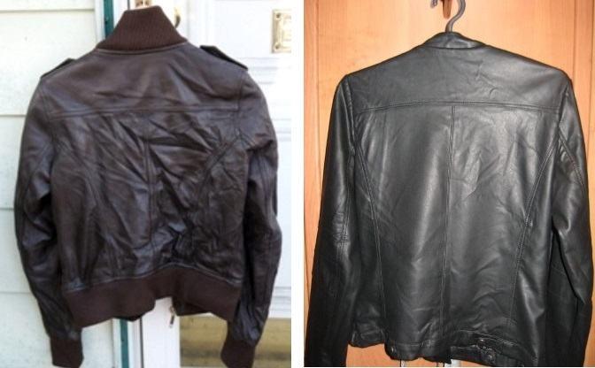 Куртка на вешалке