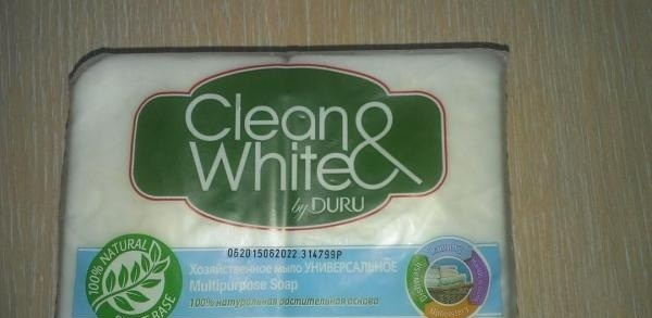 Мыло Clean&White
