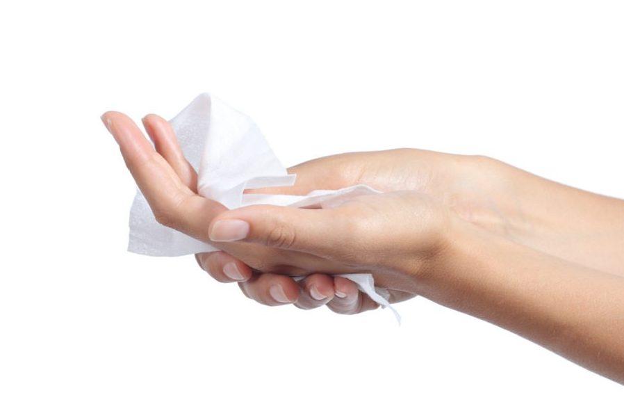 Очищение рук от запаха