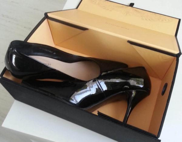 туфли в коробке