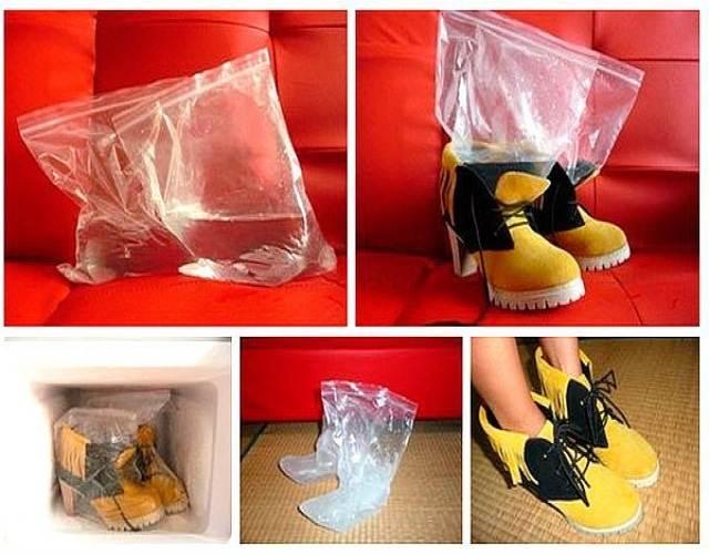 Лёд для размягчения обуви