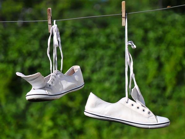 Сушка обуви из текстиля