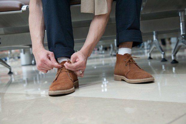 туфли из нубука