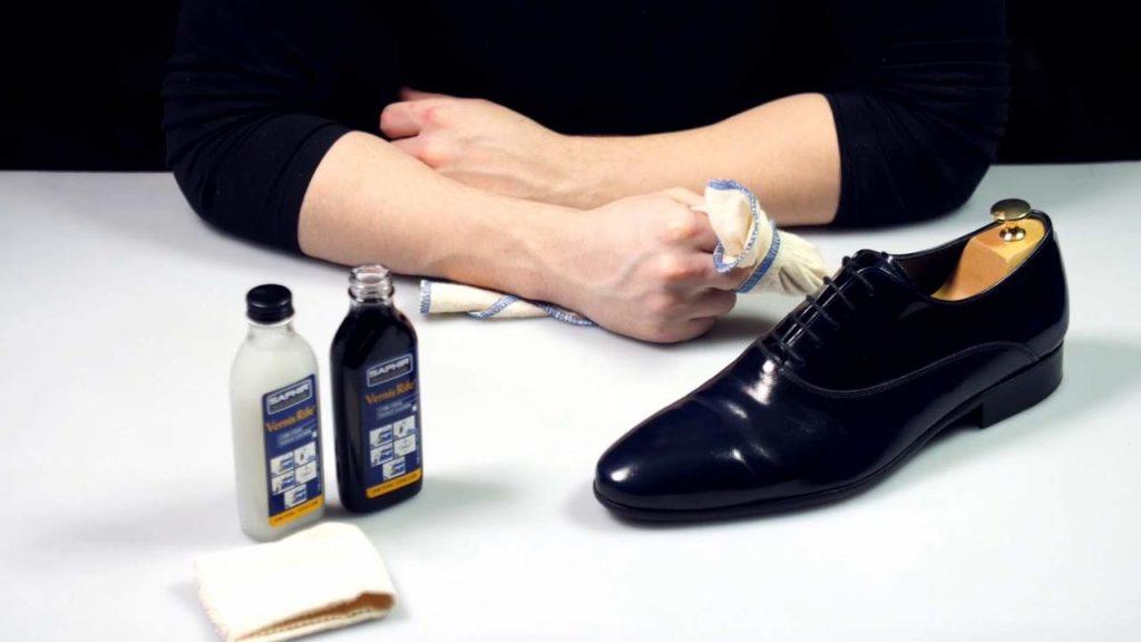Полироль для лакированной обуви