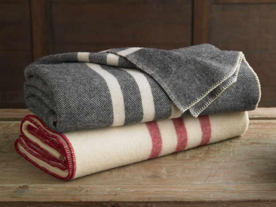 шерстяные одеяла