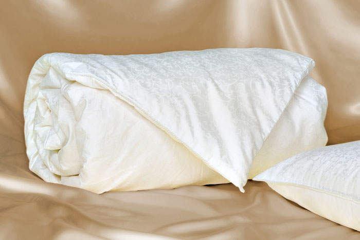 Стирка шёлкового одеяла