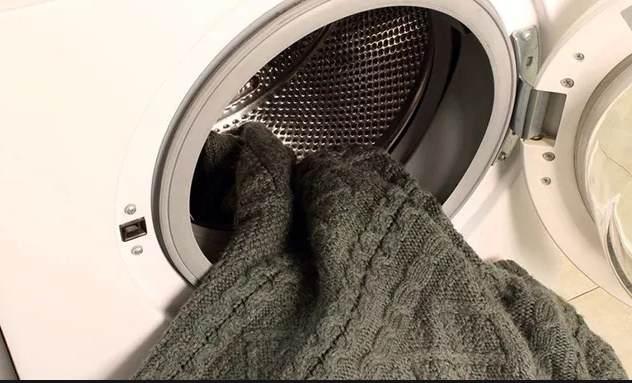 Стирка шерстяных изделий в стиральной машинке