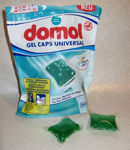 Domol gel caps