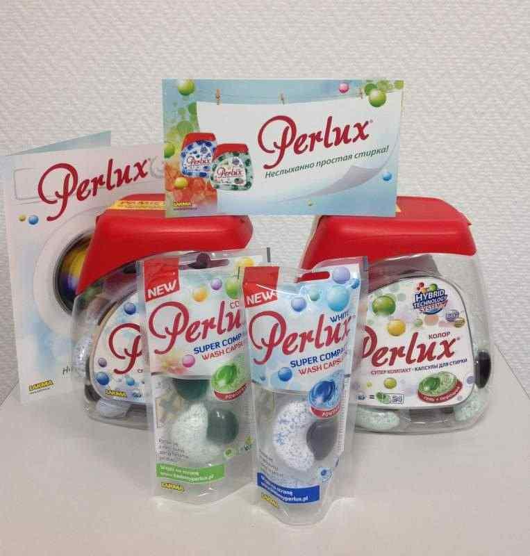 Perlux wash caps