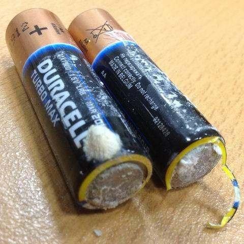Испорченные батарейки