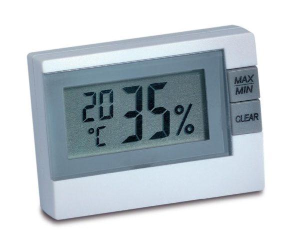 электронный термометр с гигрометром