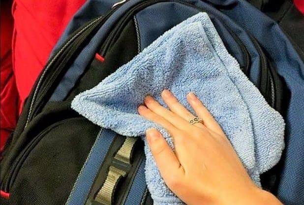 Чистка рюкзака