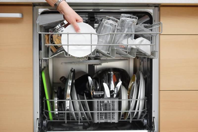 Укладка посуды в ПММ