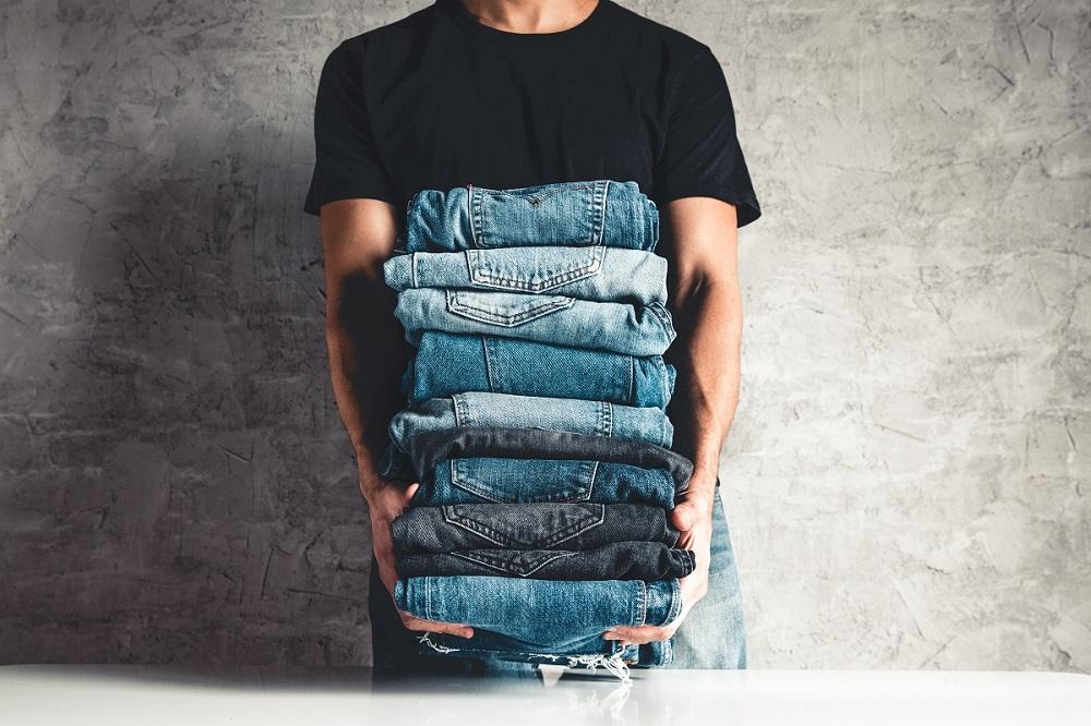 Способы отбелить джинсы